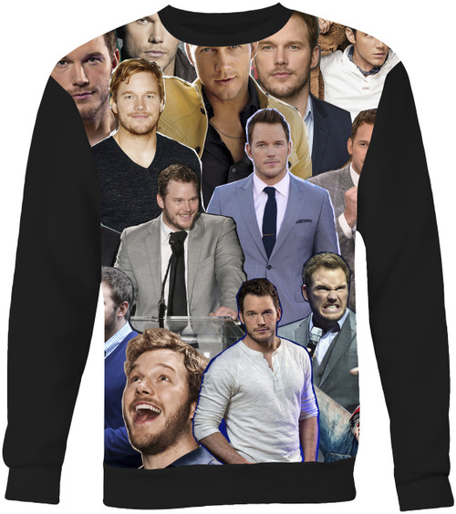 Chris Pratt Collage Sweater Sweatshirt
