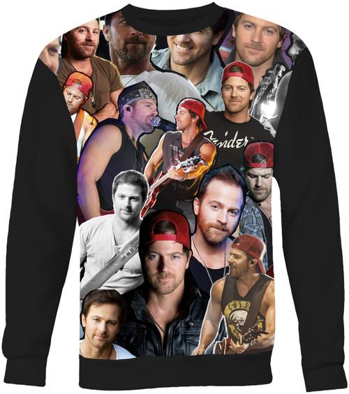 Kip Moore Collage Sweater Sweatshirt