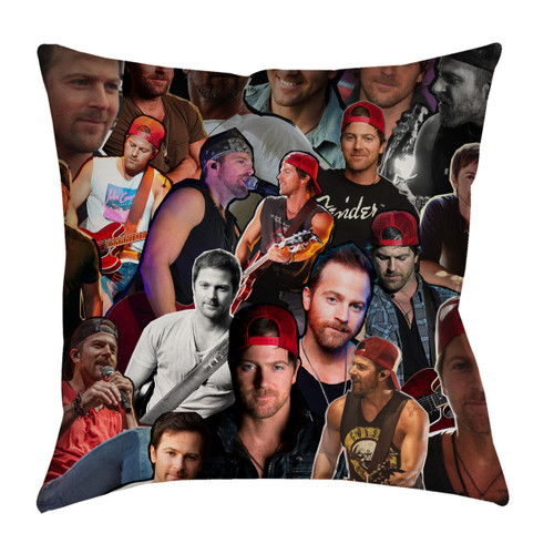 Kip Moore Photo Collage Pillowcase