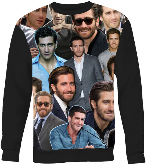 Jake Gyllenhaal Collage Sweater Sweatshirt