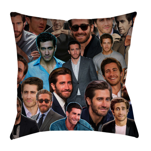 Jake Gyllenhaal Photo Collage Pillowcase