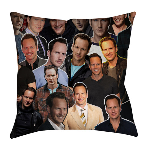 Patrick Wilson pillow case