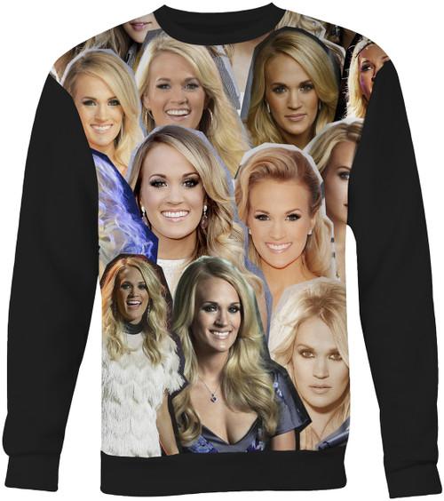 Carrie Underwood Collage Sweater Sweatshirt