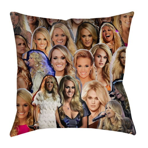 Carrie Underwood Photo Collage Pillowcase