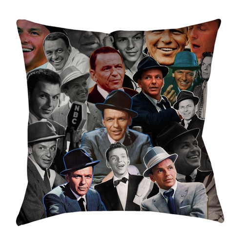 Frank Sinatra Photo Collage Pillowcase