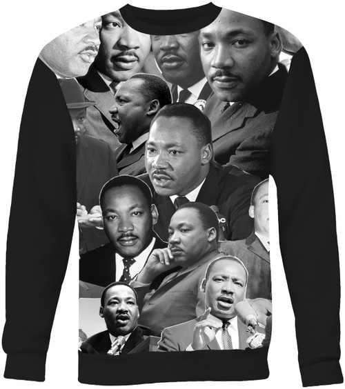 Martin Luther King Collage Sweater Sweatshirt