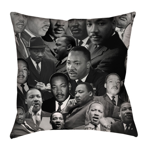 Martin Luther King Photo Collage Pillowcase
