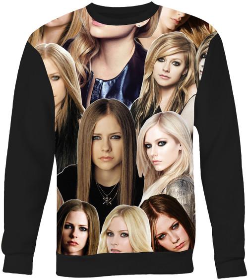 Avril Lavigne Collage Sweater Sweatshirt