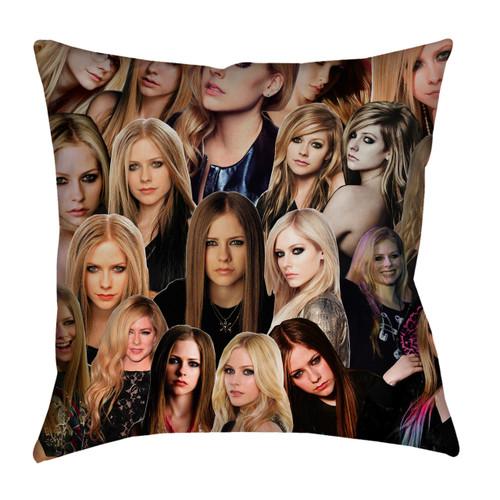 Avril Lavigne Photo Collage Pillowcase