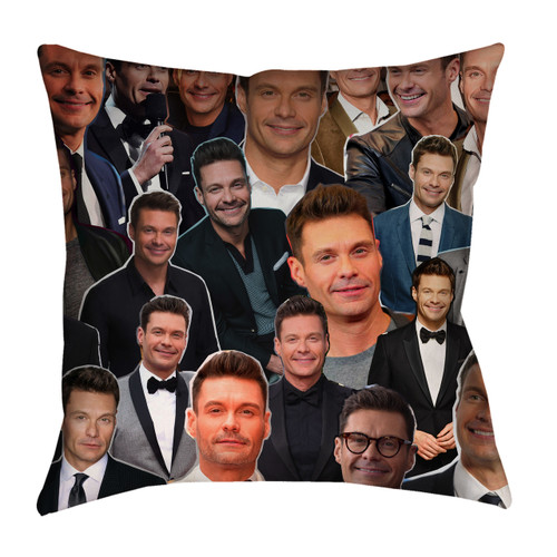 Ryan Seacrest Photo Collage Pillowcase