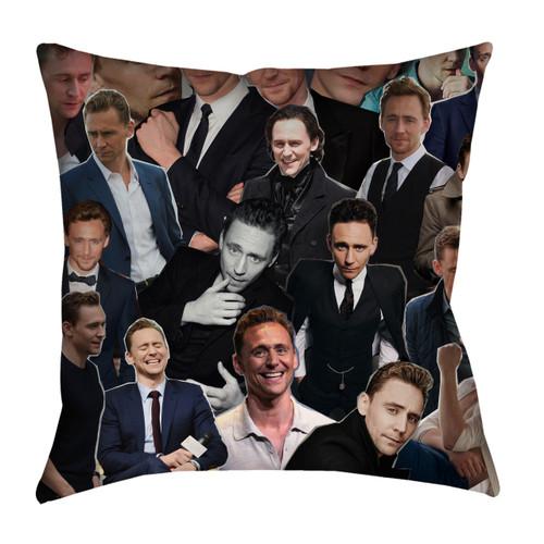 Tom Hiddleston Photo Collage Pillowcase