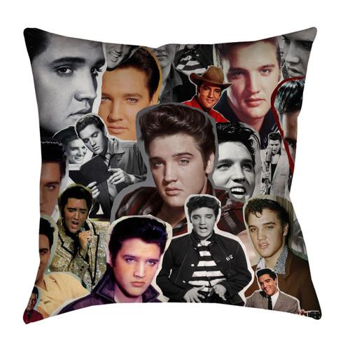Elvis Presley Photo Collage Pillowcase