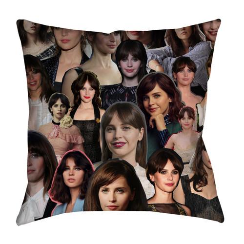 Felicity Jones pillowcase