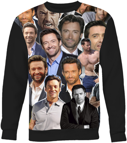 Hugh Jackman Collage Sweater Sweatshirt