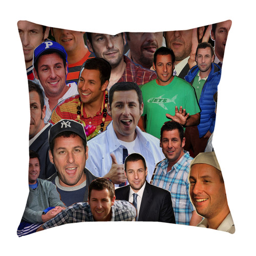 Adam Sandler Photo Collage Pillowcase