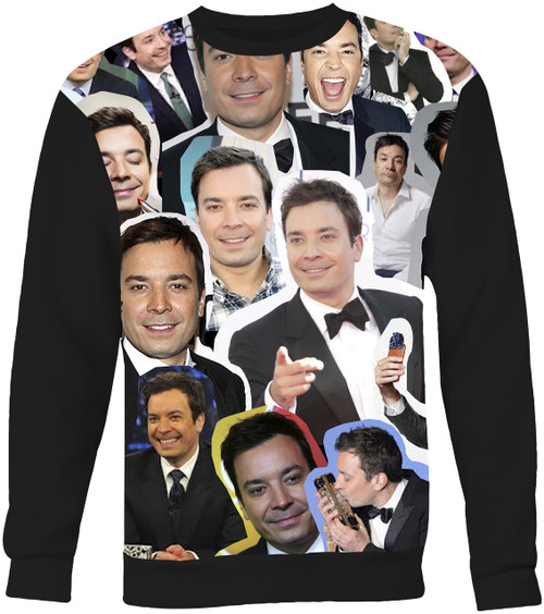 Jimmy Fallon Collage Sweater Sweatshirt
