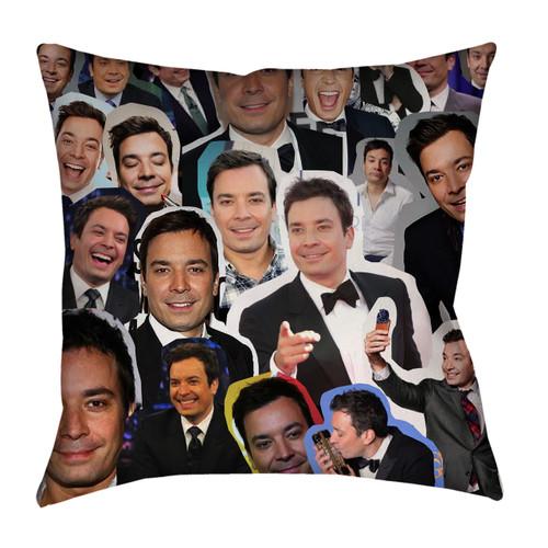 Jimmy Fallon Photo Collage Pillowcase