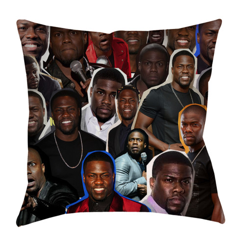 Kevin Hart Photo Collage Pillowcase
