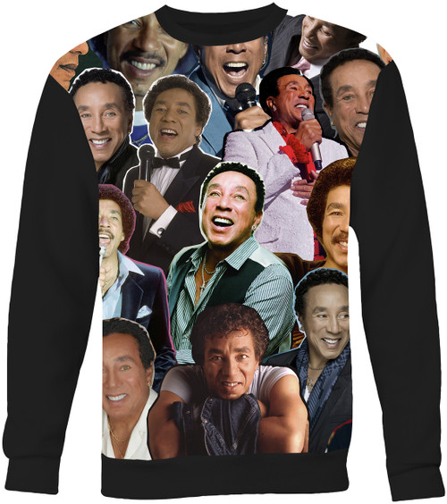Smokey Robinson Collage Sweater Sweatshirt