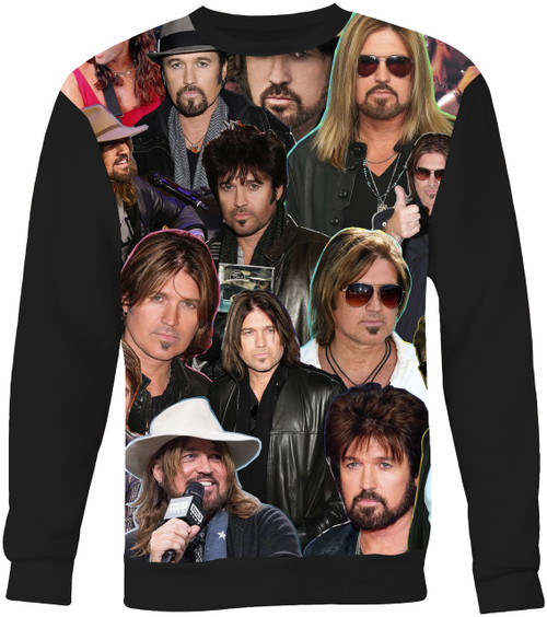 Billy Ray Cyrus Collage Sweater Sweatshirt