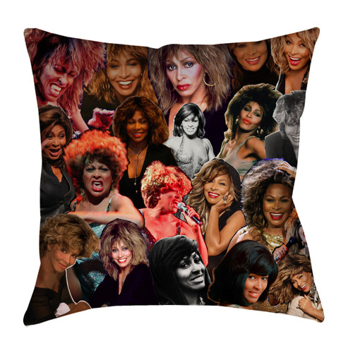 Tina Turner Photo Collage Pillowcase