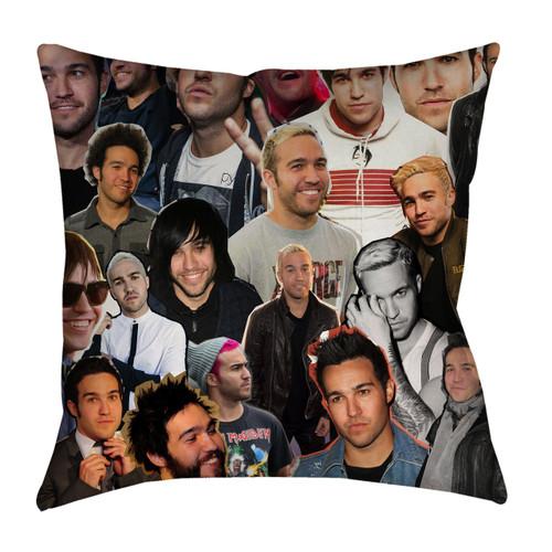 Pete Wentz Fall Out Boy Photo Collage Pillowcase