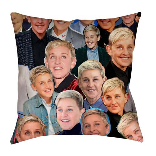 Ellen Degeneres Photo Collage Pillowcase