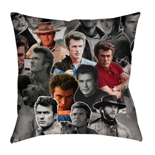Clint Eastwood pillow case