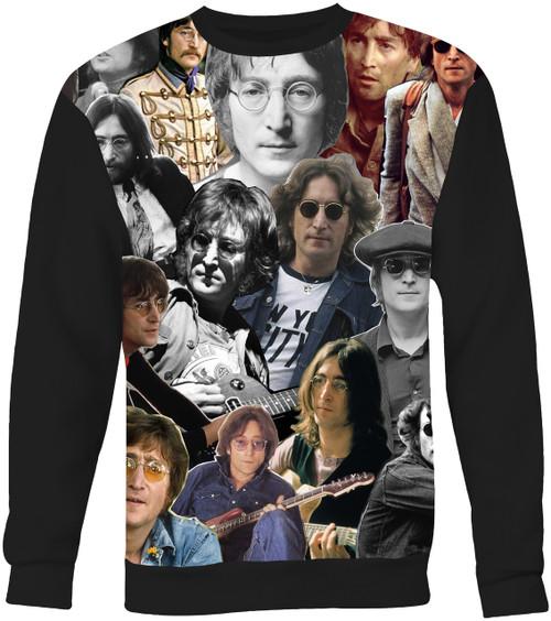John Lennon Collage Sweater Sweatshirt