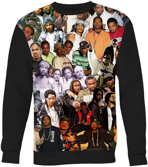 Bone Thugs-N-Harmony Collage Sweater Sweatshirt