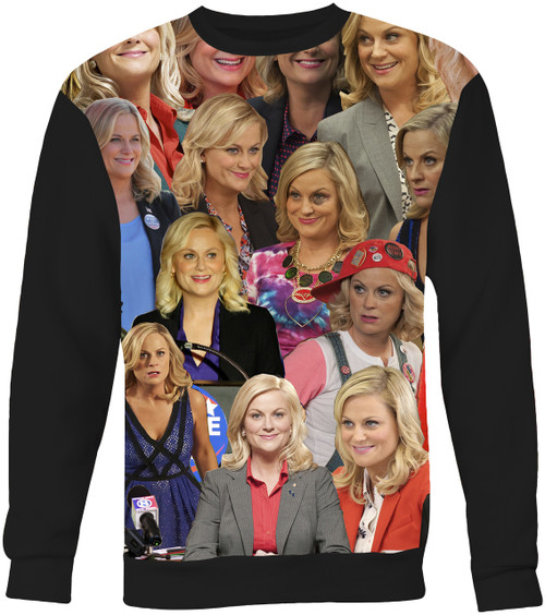 Leslie Knope Collage Sweater Sweatshirt