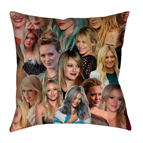 Hilary Duff Photo Collage Pillowcase