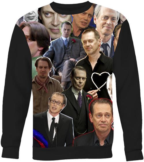 Steve Buscemi Collage Sweater Sweatshirt