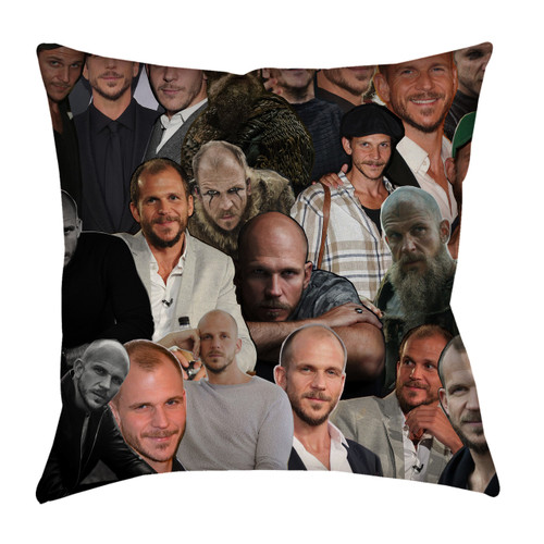 Gustaf Skarsgard pillow case