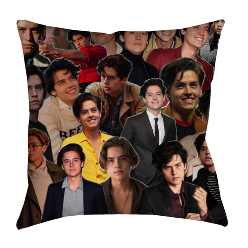 Cole Sprouse Photo Collage Pillowcase