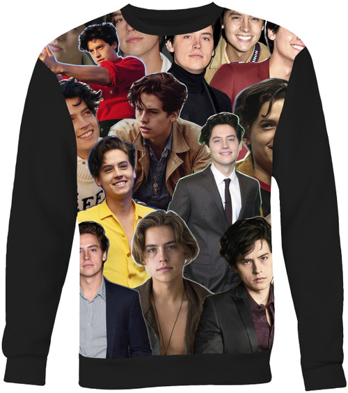 Cole Sprouse Collage Sweater Sweatshirt