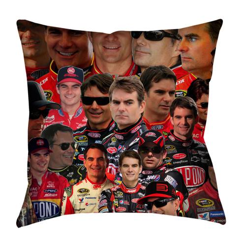 Jeff Gordon Photo Collage Pillowcase