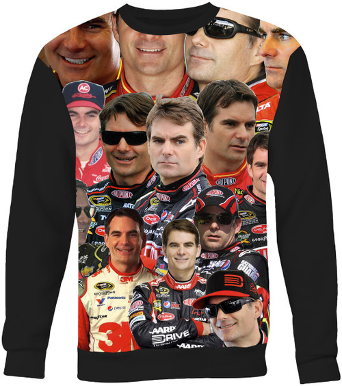 Jeff Gordon Collage Sweater Sweatshirt