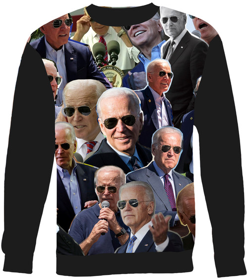 Joe Biden Collage Sweater Sweatshirt