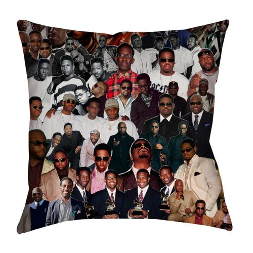 Boyz II Men Photo Collage Pillowcase