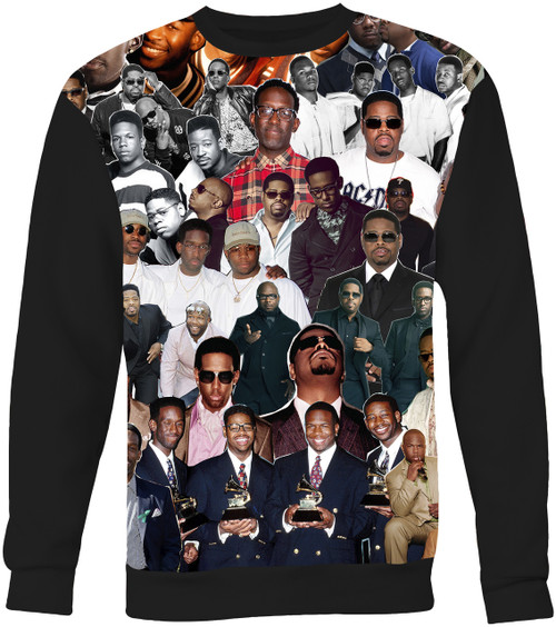 Boyz II Men Collage Sweater Sweatshirt