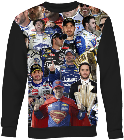 Jimmie Johnson Collage Sweater Sweatshirt