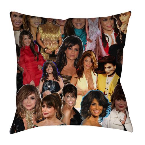 Paula Abdul Photo Collage Pillowcase