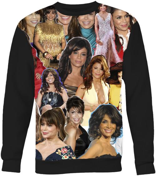 Paula Abdul Collage Sweater Sweatshirt