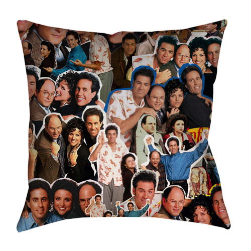 Seinfeld Photo Collage Pillowcase