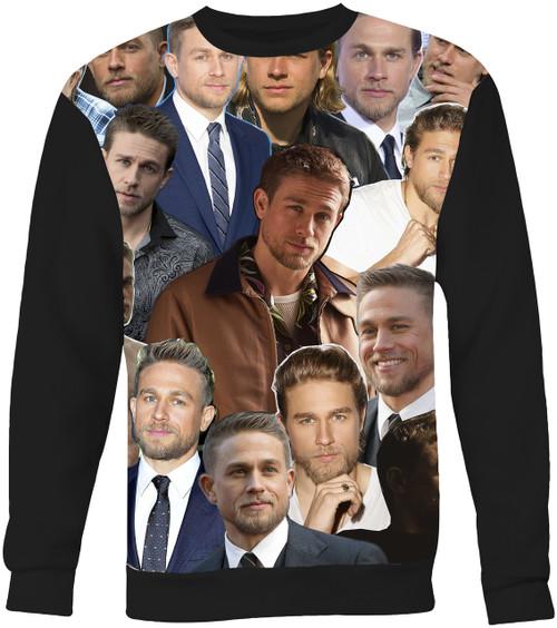 Charlie Hunnam Collage Sweater Sweatshirt