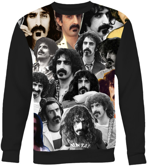 Frank Zappa Collage Sweater Sweatshirt