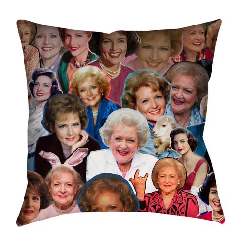 Betty White Collage Pillowcase
