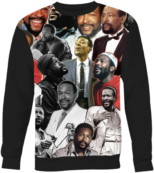 Marvin Gaye Collage Sweater Sweatshirt