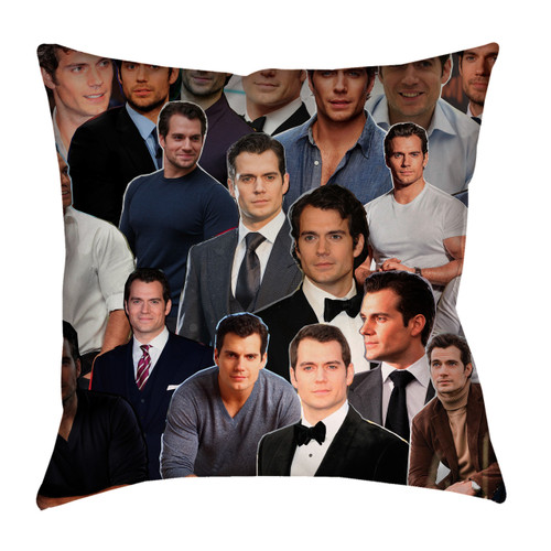 Henry Cavill  Photo Collage Pillowcase